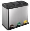 Odpadkový koš Toro 270233, 3x15L