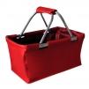 Košík nákupní skládací červený 29L