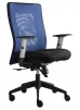 Alba židle Lexa modrá