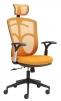 Kancelářské křeslo Marki oranžové