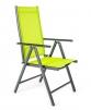 Židle polohovací RAMADA světle zelená