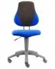 Dětská židle Alba FUXO modro-šedá