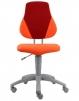 Dětská židle Alba FUXO oranžovo-vínová