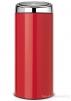 Koš Touch Bin 30L zářivě červená